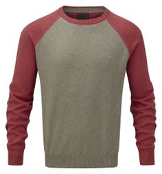 Vedoneire - Mens Cotton Raglan Knit Jumper (4307) various colours, £49.99  #Vedoneire #Menswear #Fashion #Apparel #SS14 #Ireland #IrishBrands #Irish (http://www.vedoneire.co.uk/mens-cotton-raglan-knit-jumper-4307-various-colours/)