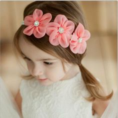 Clothing, Shoes & Accessories Baby Accessories Persevering 6pcs Cute Kids Girl Baby Chiffon Toddler Flower Bow Headband Hair Band Headwear