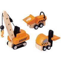 Plan Toys Construction Vehicles PlanWorld