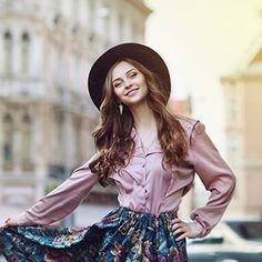 Lanzom Women Lady Retro Wide Brim Floppy Panama Hat Belt Buckle Wool Fedora Hat (Army Green, One Size) Fall Hats For Women, Fedora Hat Women, Women Hat, Wide-brim Hat, Hat Shop, Happy Women, Young And Beautiful, Hat Sizes, Stylish Outfits