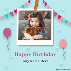 Birthday Wishes With Photo, Create Birthday Card, Birthday Wishes For Friend, Birthday Cards, Happy Birthday, Wishes For Baby Boy, Kids Boys, First Love, Bday Cards