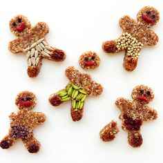 Cancer-Fighting Raw Gingerbread Cookies with real ginger, dates, lemon and coconut