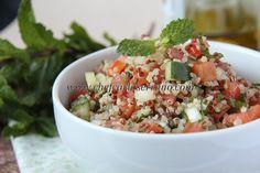 Chef Carla Serrano: Tabule de Quinoa - sem glúten e sem lactose