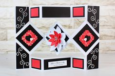 The beautiful Diamond Shutter Card Collection. For more information visit www.tatteredlace.co.uk.