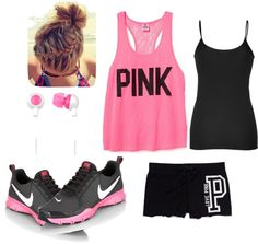 """""""Work Out Ready!!"""" by kenzie-jo on Polyvore"""