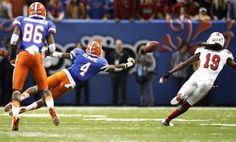Louisville upsets Florida in Sugar Bowl