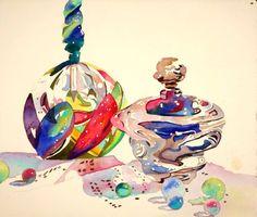 images about Artist :Anne Watercolor And Ink, Watercolour Painting, Painting & Drawing, Watercolors, Advanced Higher Art, Pastel, Still Life Art, High Art, Love Art