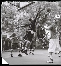 Street basketball, outdoor sports, street ball