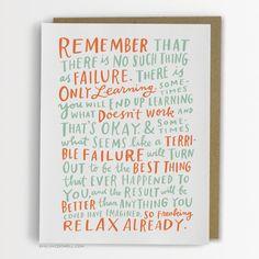 On Failure Card