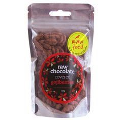 Raw Chocolate Co Raw Chocolate Coated Gojis (100g)