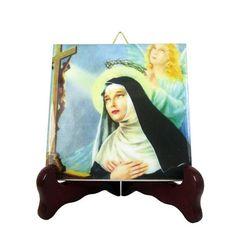 Guarda questo articolo nel mio negozio Etsy https://www.etsy.com/it/listing/253111113/st-rita-of-cascia-catholic-gifts