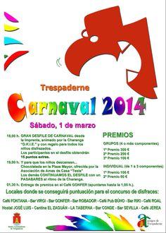 01/03  Carnaval. Trespaderne  A partir de las 18:00h