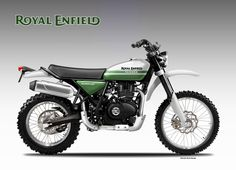 Royal Enfield Gurkha 400 Concept by Oberdan Bezzi Ducati Pantah, Ducati Supersport, Ducati Scrambler, Scrambler Motorcycle, Honda Dominator, Bobber, Guzzi V9, Moto Guzzi, Motorcycle Types