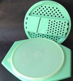 Vintage 1960's Tupperware Jade Green Grater Bowl & Seal Cheese Retro Kitchenalia in Collectables, Homeware, Kitchenware, Tupperware | eBay!