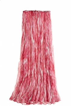 Painterly strokes of fuschia, soft pink, white & taupe emerge from the Despina Printed Crinkle Silk Maxi Skirt. Skirt Outfits, Dress Skirt, Thing 1, Womens Maxi Skirts, European Fashion, Tie Dye Skirt, Cool Style, Mini Skirts, Red Maxi