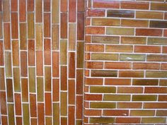 Efflorescence is a common occurrence on new brick and mortar. This is a flakey white deposit that occurs when the moisture within the bricks and mortar comes to the surface. The liquid combines with additional minerals within the masonry.