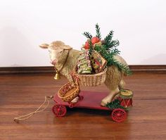 Image result for victorian christmas hampers baskets movie
