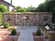 Grenzmauer aus alten Feldbrandsteinen, Ruinenmauer | Ruinenmauern ...