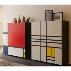 HOMAGE TO MONDRIAN Design. Shiro Kuramata…