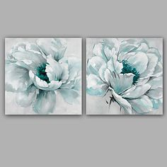 100% Hand-Painted Abstract / Floral/Botanical Hang-Painted Oil PaintingModern / Classic One Panel Canvas Oil Painting For Home Decoration 5421109 2017 – $204.48