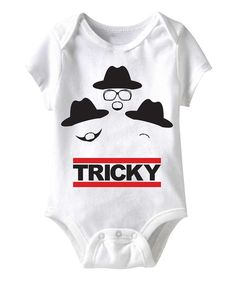 Take a look at this White Run DMC 'Tricky' Bodysuit - Infant on zulily today!