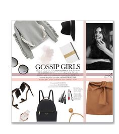 """""""Gossip Girl"""" by ladyperrie ❤ liked on Polyvore featuring Paul Smith, N°21, Gianvito Rossi, Marc by Marc Jacobs, Henri Bendel, Miu Miu, Christian Dior and Versace"""
