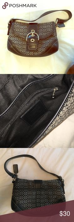 Authentic coach purse Coach purse - barely used. Good condition! Make a reasonable offer Coach Bags Shoulder Bags