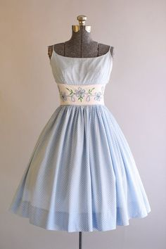This makes me think of a Sound of Music dress. Leisel's, in fact.