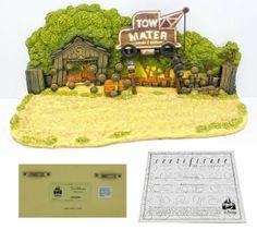 Disney Pixar Cars Tow Mater Diorama by Robert Olszewski Hard Find Cards Diorama picclick.com