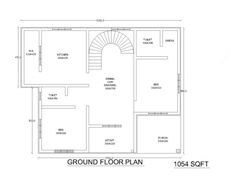 1000 Square Feet 2 Bedroom Kerala Low Budget Home Design and Plan
