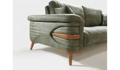 This Pin was discovered by Mod Chesterfield Chair, Sofa Chair, Sofa Set, Sofa Design, Couch Furniture, Furniture Ideas, Diy Sofa, Modern Chairs, Accent Chairs