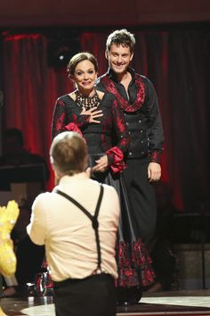 Tristan McManus & Valarie Harper  -  Dancing with the Stars  -  Week 2  -  season 17  -  fall 2013