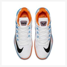 Rafael Nadal's Nike shoes for US Open 2016 (day session) Rafa Nadal - Atp - ATP - US Open - Tennis - Sport / Sportif - Vamos Rafa