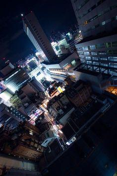 Shibuya, Tokyo at night