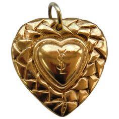 Ysl pendant YVES SAINT LAURENT Gold in Metal All seasons - 637884