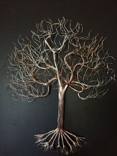 "Exceptional ""metal tree wall art decor"" info is readily available on our web pages. Have a look and you will not be sorry you did. Metal Sun Wall Art, Wire Wall Art, Metal Art, Tree Wall Decor, Wall Art Decor, Copper Wire Art, Copper Crafts, Wire Tree Sculpture, Tree Artwork"