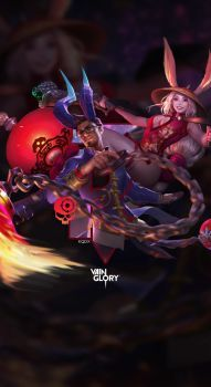 Reza Gwen Red Lantern Wallpaper By Kodrykqdx Vainglory