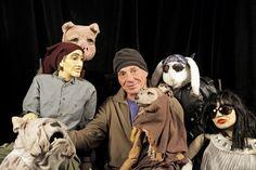 Lee Breuer Prepares 'La Divina Caricatura' - Amazing puppets!!