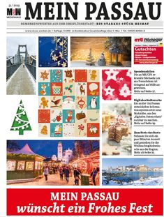 Die Gassenflüsterer aus der Dreiflüssestadt Advent Calendar, Photo Wall, Holiday Decor, Frame, Home Decor, Passau, Make A Donation, River, City