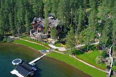 This property is beautiful and has great privacy! On the Lake in Coeur d'Alene, Idaho - WSJ House of the Day - WSJ.com