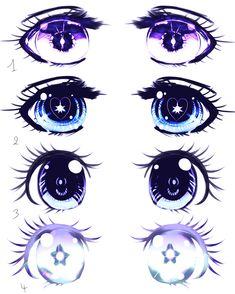 Eyes Shojo manga example by Kirimimi.deviantart.com on @deviantART