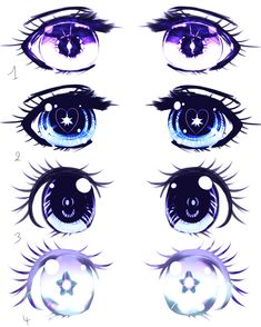 Eyes Shojo manga example by Kirimimi.deviantart.com on @deviantART