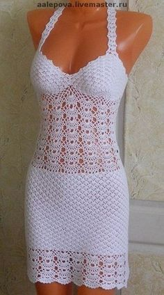crochet dress pattern diagrams pdf  | marifu6a - Patterns on ArtFire