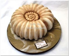 Ammonite - fossil Cake - Cake by Helen Campbell