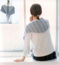 Ideas para el hogar: Capas crochet y dos agujas