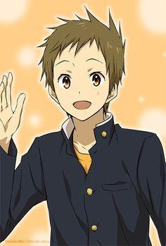 /Fukube Satoshi/#1590481 - Zerochan | Hyouka | Kyoto Animation | Yonezawa Honobu