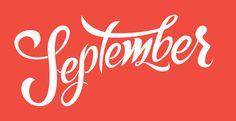 September #handlettering