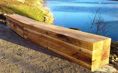 Blueton Limited - The new name in street furniture - Ref 0804 Block bench seating, #landscape architecture, #street furniture, #outdoor seating, #site furnishings