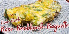 Käse-Knoblauch-Baguette – Low-Carb Baguette herzhaft & saftig