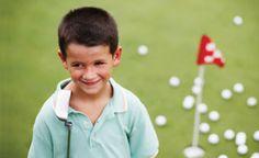 golfing kid